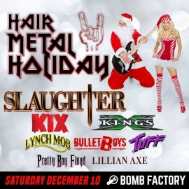 Hair Metal Holiday 2016