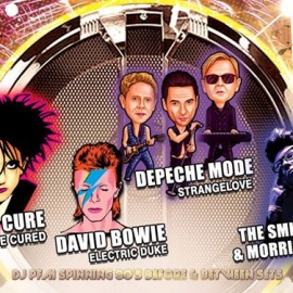 80s New Years Eve Bash w/ Tribute to Depeche, Cure, Smiths, Bowie
