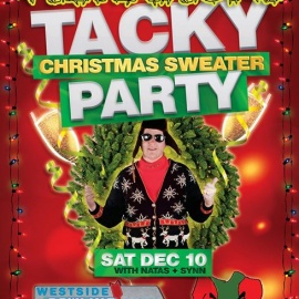 Vibrations Tacky Christmas Sweater Party