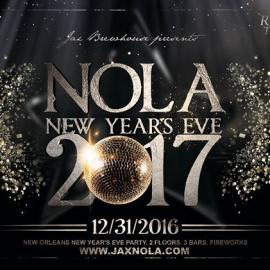 New Orleans NYE 2017 at JAX