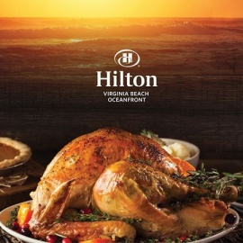 2016 Thanksgiving Buffet at the Hilton