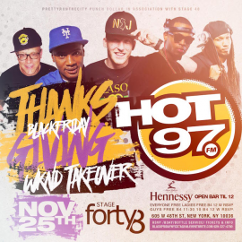 HOT 97 Thanksgiving Weekend Takeover