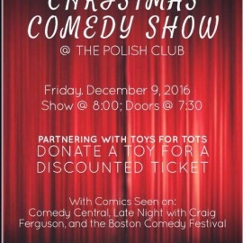 Christmas Comedy Show & Holiday Party