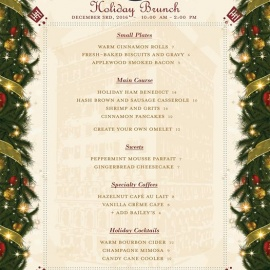 Holiday Brunch at The Hermitage Hotel