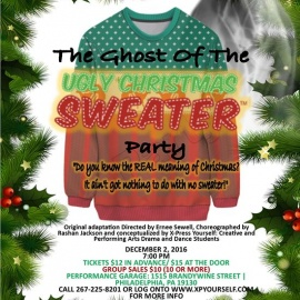 Ghost of the Ugly Christmas Sweater Party