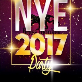 NYE 2017 Party at Brass Monkey
