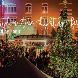 Bricktown Tree Lighting Festival presented by Sonic