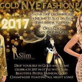 24k Gold NYE Fashion Party