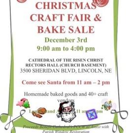 Christmas Craft Fair and Bake Sale