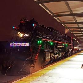 North Pole Express Holiday Train at Union Depot