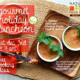 Free Cooking Class: Gourmet Holiday Lunch