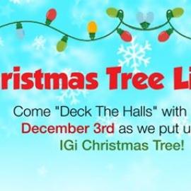Christmas Tree Lighting!