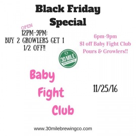 30 Mile Black Friday Special