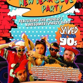 105.9 The X Official NYE Party with Saved By The 90s at Rex Theater!