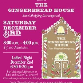 Gingerbread House - Sweet Shopping Extravaganza