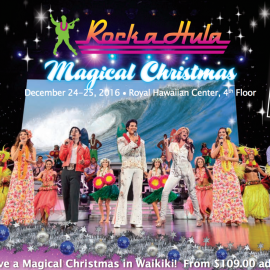 Make the Holidays Magical with Rock-A-Hula's Christmas Show