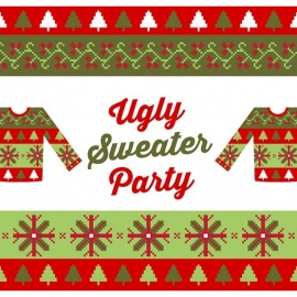 Ugly Sweater and Loyalty Party
