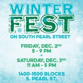 WinterFest on S. Pearl St.