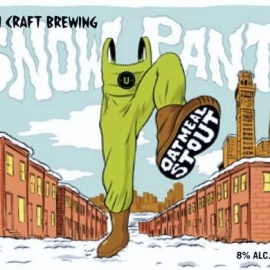Union Craft Brewing Snow Pants Party in the Beer Garden