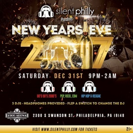 New Years Eve 2017 with Silent Philly