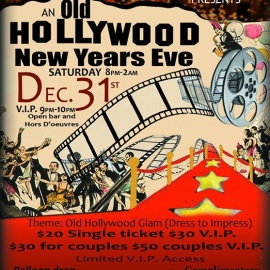 NYE Hollywood Glam Party