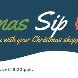 Christmas Sip & Shop