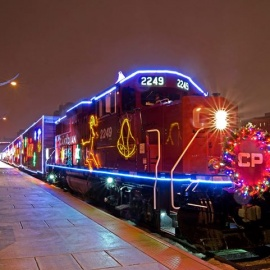 CP Holiday Train with performers Colin James & Kelly Prescott