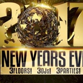 New Year's Eve 2017 at The Brass Alley