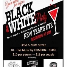 NYE 2017 - Black & White Party