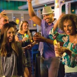 Bahama Breeze Hosts Junkanoo-Inspired New Year's Bash