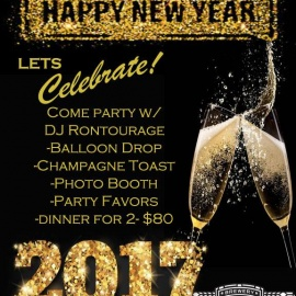 Rock Bottom's NYE 2017 Party