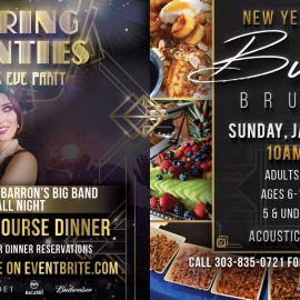 Roaring 20's New Year's Eve 2017 at ViewHouse Centennial