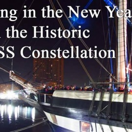 New Year's Eve Deck Party on USS Constellation