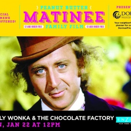 Peanut Butter Matinee: Willy Wonka & The Chocolate Factory | Enzian Theater