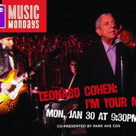 Music Mondays: Leonard Cohen: I'm Your Man   Enzian Theater