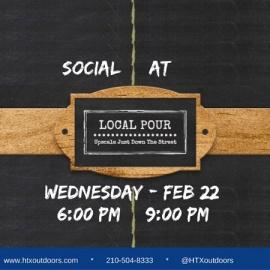 BCO & HTXO Social at Local Pour