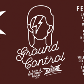 Ground Control : A Bowie Birthday Bash Benefiting SIMS - Presented by ABGB & Green Ranch Productions, in partnership w/