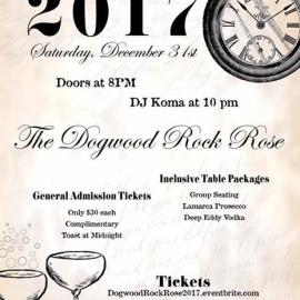 2017 NYE at Dogwood Rock Rose