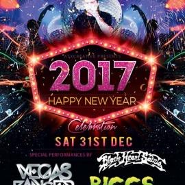 2017 NEW YEARS EVE Celebration @ Nook Amphitheater