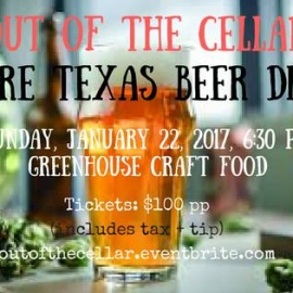 Out of the Cellar: A Rare Texas Beer Dinner