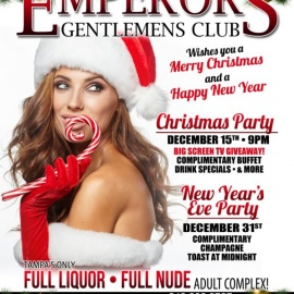 Emperors Gentlemens Club 2017 NYE Party