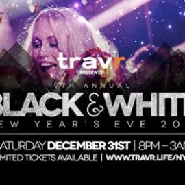 Travr Black & White NYE at The Hyde Out