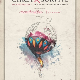 Circa Survive On Letting Go 10 Year Tour