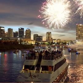 Yacht StarShip NCAA Fireworks Cruise