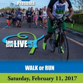 The LifeLink 2nd Annual Love Give Live 5K Walk/Run