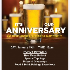 2nd Year Birthday Party | Brass Tap Centro Ybor