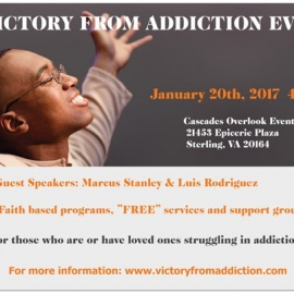 VIctory from Addiction Community Event