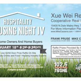 Hospitality Housing Night IV