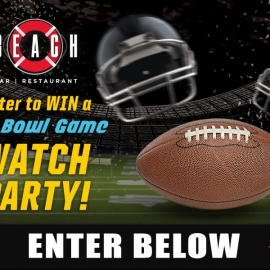 Beach Bar's Big Bowl Game Watch Party
