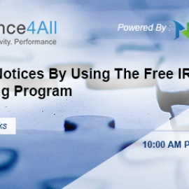 IRS Forms 1099 to use Free IRS Tin Matching Program by compliance4all